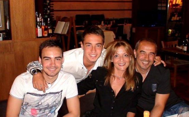 Димитър Васев и семейството му източник: Личен архив