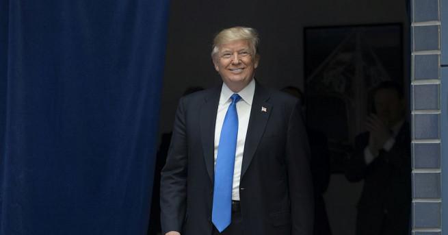 Президентът на САЩ Доналд Тръмп обвини днес бившия ръководител на