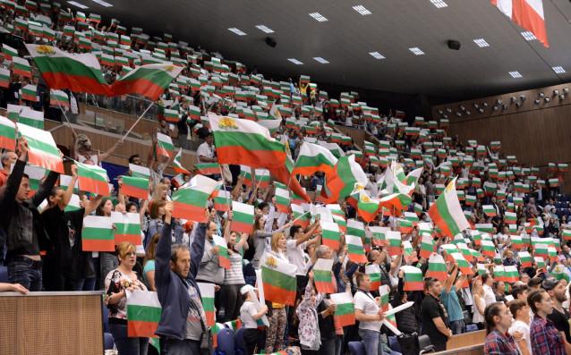Националният тим по волейбол на България източник: LAP.bg