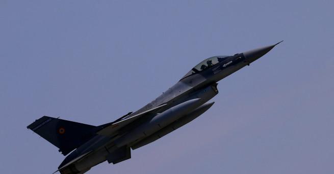 Изтребител МиГ-21 Lancer на Военновъздушните сили на Румъния падна в