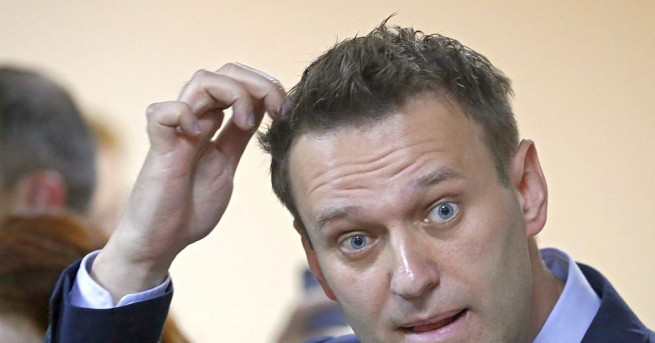 Руският опозиционен лидер Алексей Навални бе осъден на 30 дни