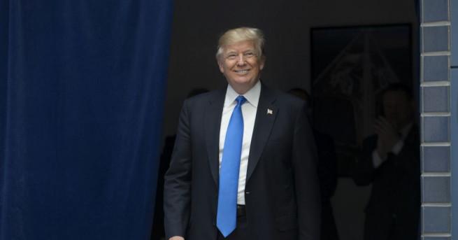 Американският президент Доналд Тръмп се готви да отбележи първия си