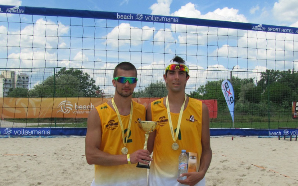 Кордев и Христов спечелиха тунрира по плажен волейбол от Beach Volley  Mania в Кранево