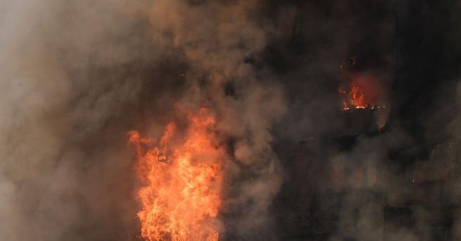 Очевидци на огнения ад в Лондон: Беше като филм на