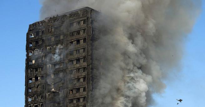 Причините за пожара в блок в Лондон са неизвестни Има