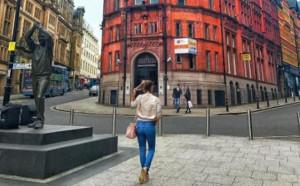 Пиронкова се разходи из Нотингам преди срещата с Нара