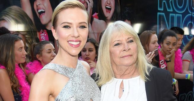 """Джералдин Дод, която стана известна като """"72-годишната двойничка"""" на Скарлет"""