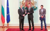 Почетният знак на Президента за Бербатов и Фиго