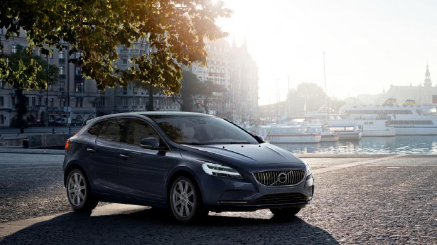 Volvo V40 прави живота по-добър