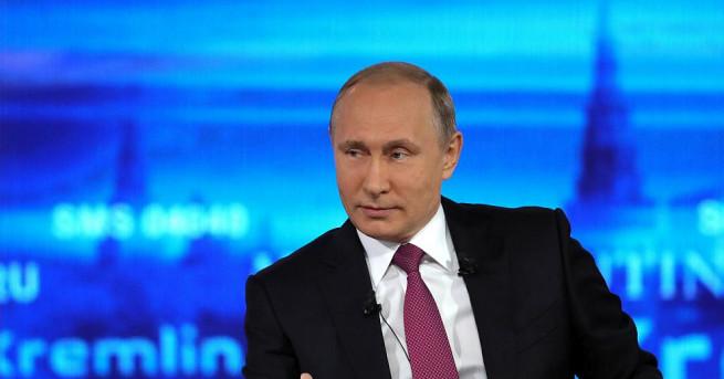 Владимир Путин каза на годишната си