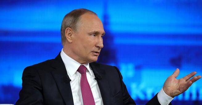 Руският президент Владимир Путин заяви, че Джеймс Коми по нищо