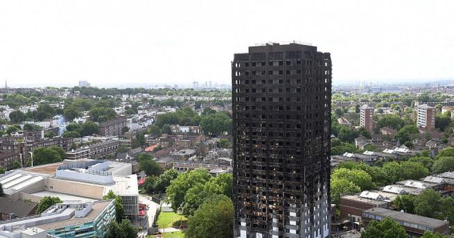 58 души, обявени за изчезнали при пожара в жилищния блок