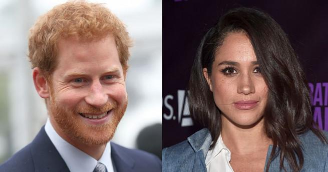 Любовта между британския принц Хари и актрисата от САЩ Меган