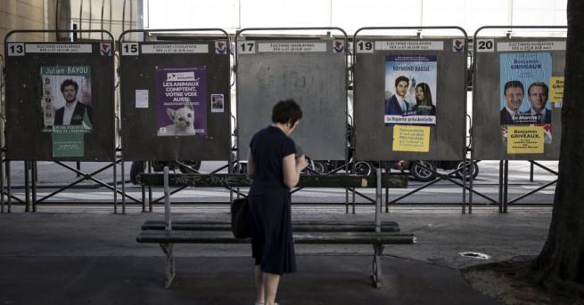 Вторият, решаващ тур на парламентарните избори във Франция, насрочен за