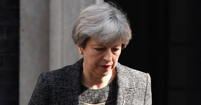 Британският премиер Тереза Мей ще приеме на