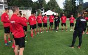 Първа тренировка на ЦСКА в Австрия<strong> източник: CSKA.BG</strong>