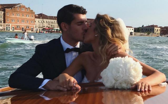 Алваро Мората и Алис Кампейо източник: Instagram.com/alvaromorata