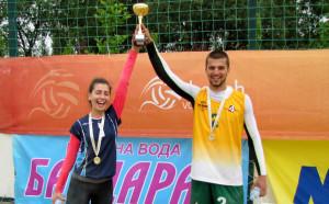 Аврамова и Христов спечелиха втора титла от Beach Volley Mania