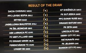 УЕФА обяви кога играят българските тимове в Лига Европа