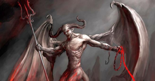 Защо дяволът винаги е изобразен с рога, копита и опашка?