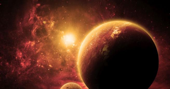 Марс е четвъртата планета от Слънчевата система. Планетата носи името