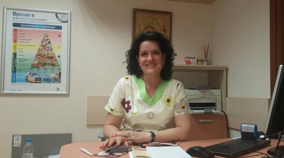 Д-р Харизанова, специалист по ендокринология и болести на обмяната стана...
