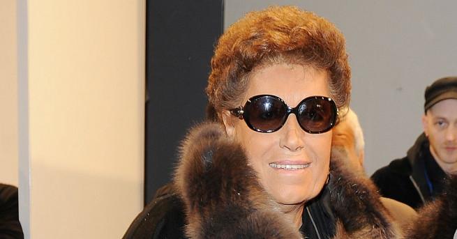 Карла Фенди - една от петте сестри основателки на модна