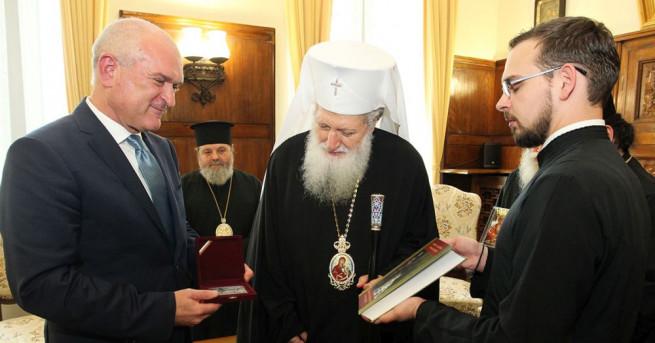 Снимка: Патриарх Неофит се срещна с Димитър Главчев