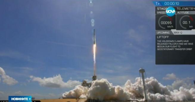 Първият български частен геостационарен комуникационен сателит бе изведен успешно на