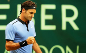 Федерер на финал в Хале