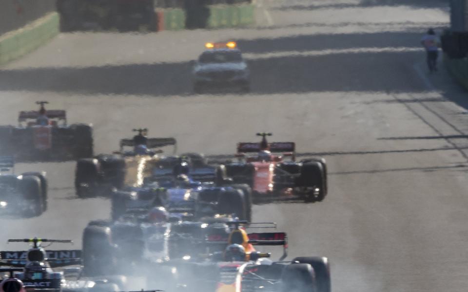 Гран При на Азербайджан във Формула 1 в снимки