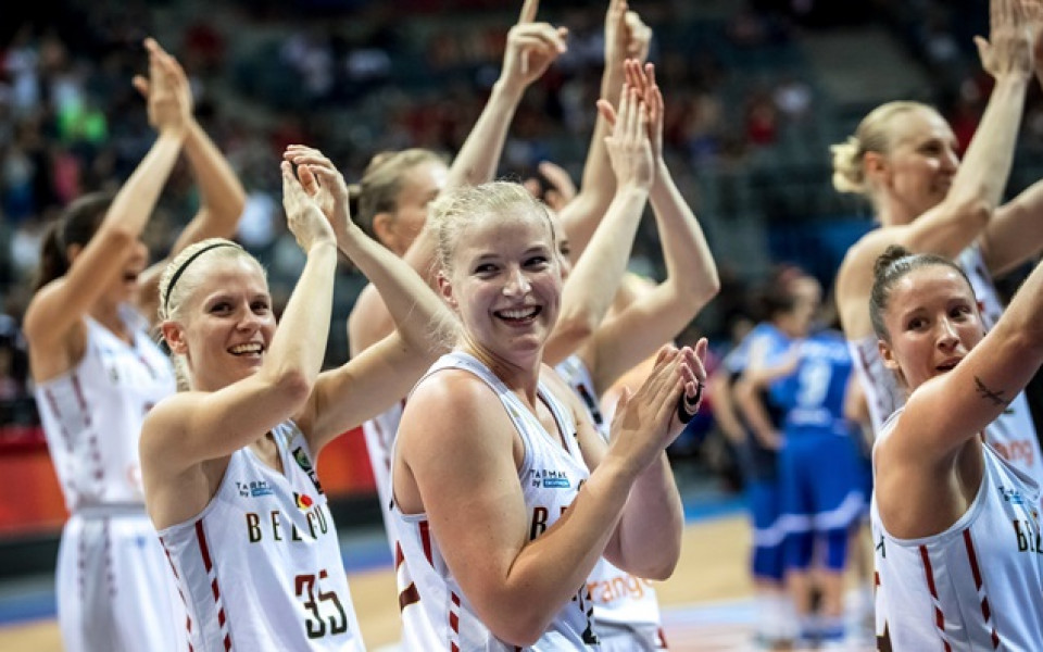 Белгия в Топ 3 на европейския женски баскетбол