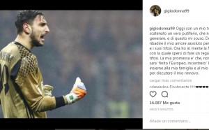 Хакнаха Донарума, след като обяви добра новина за Милан