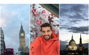 Григор като турист в Лондон
