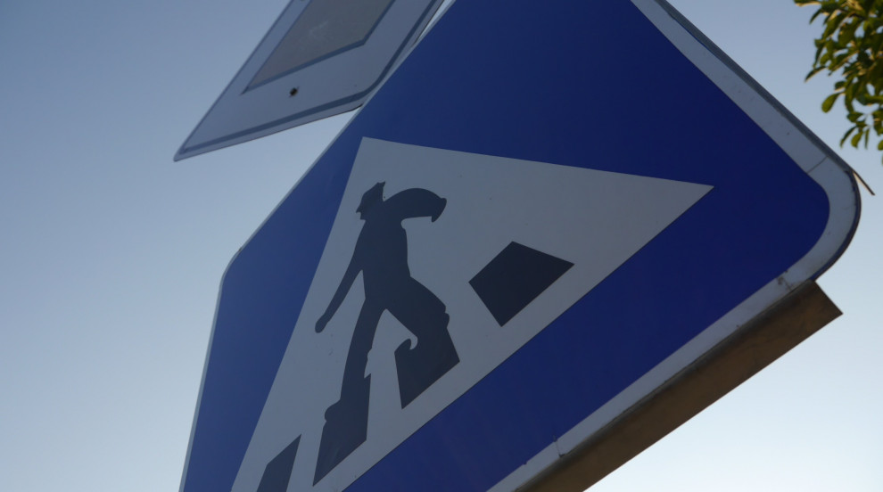 Шофьорка блъсна пешеходец в Харманли