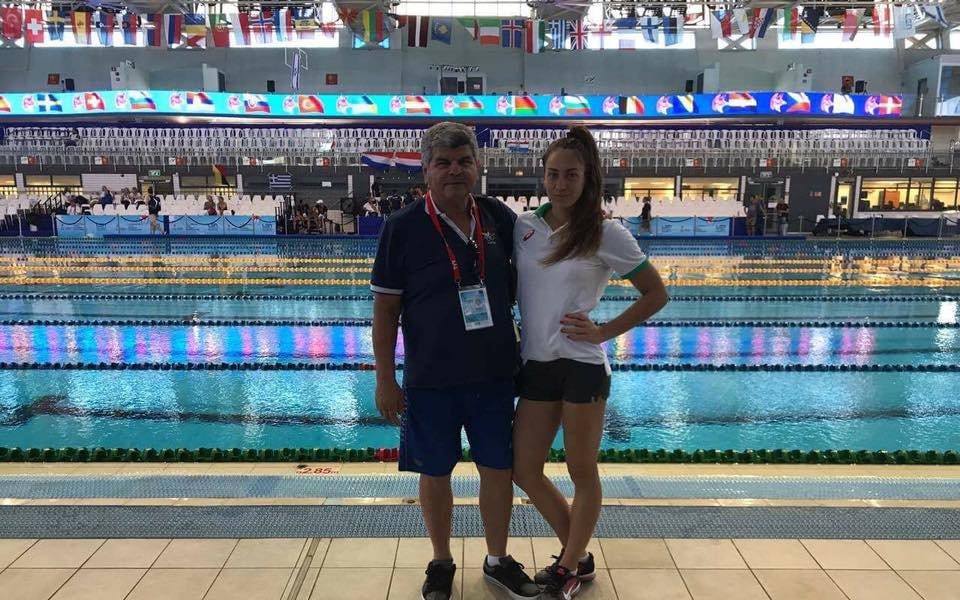 Три стотни не стигнаха на Диана Петкова за полуфинал на Европейското по плуване