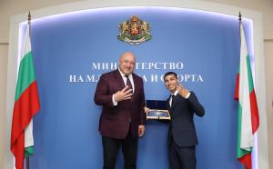 Кралев награди бг Тайсана и отсече: Той е бъдещето на бокса ни
