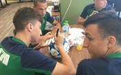 Националите на България U19 в подкрепа на малката Йоана