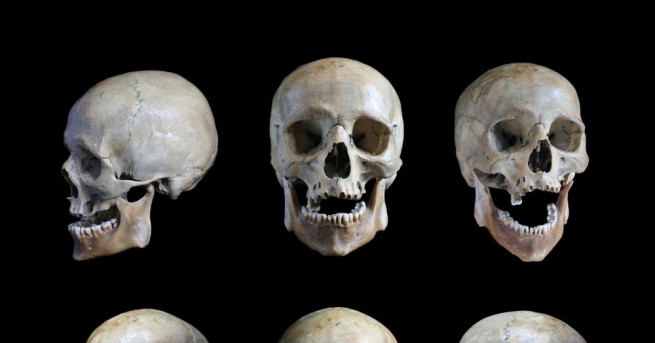 Кула от човешки черепи, открита под центъра на мексиканската столица,