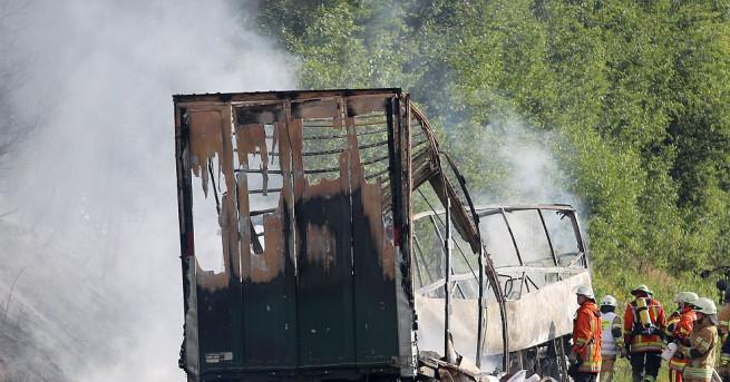 До момента няма данни за пострадали българи при катастрофата с