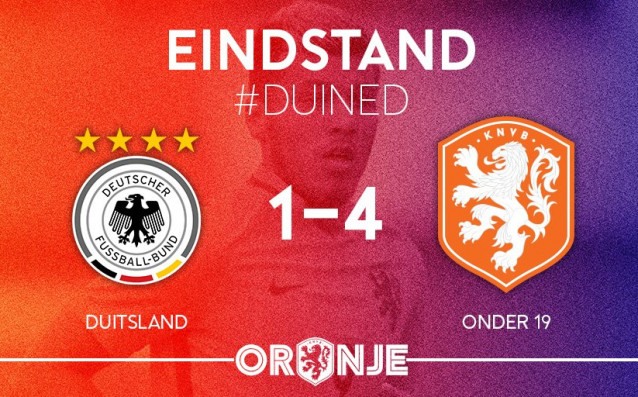 Германия - Холандия 1:4<strong> източник: Twitter/OnsOranje</strong>
