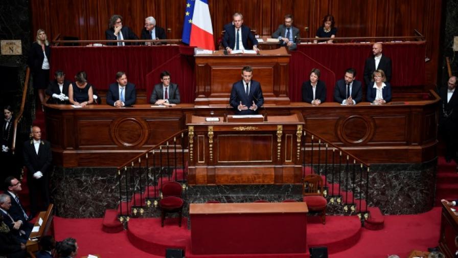 Макрон иска нова посока за ЕС и нов път за Франция