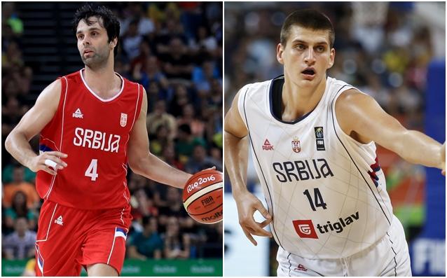 Милош Теодосич и Никола Йокич източник: Gulliver/GettyImages
