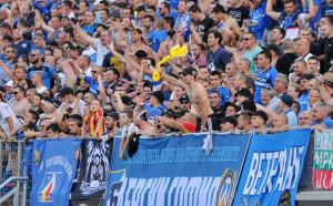 Левскарите надъхаха отбора си преди мача с ЦСКА