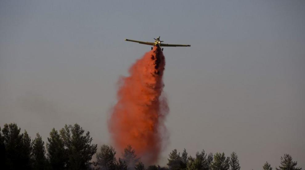 Голям горски пожар избухна на гръцкия остров Кефалония