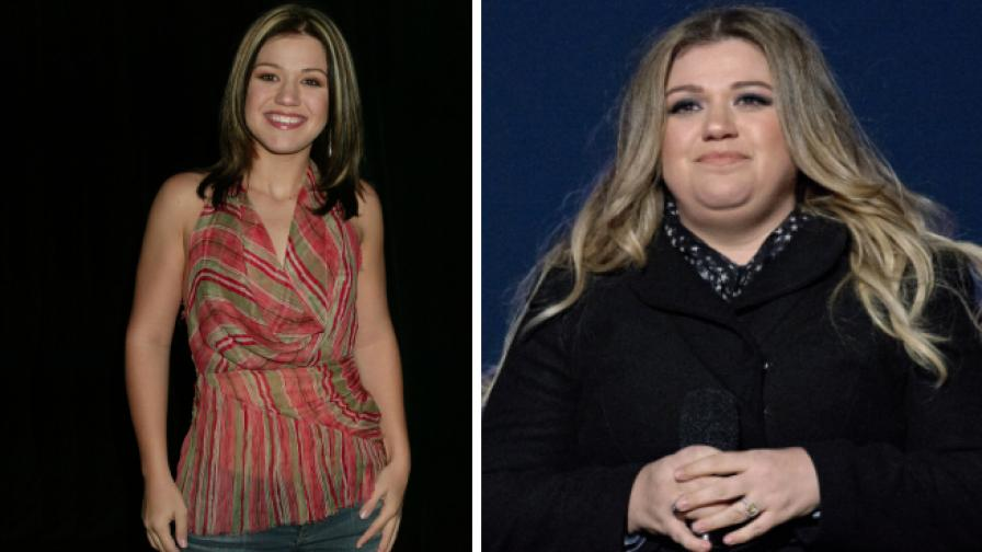 Кели Кларксън преди и след