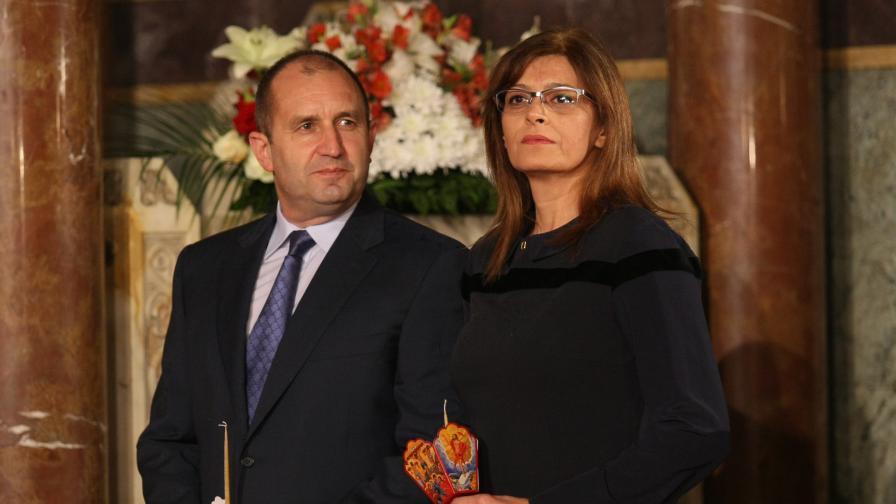 """Президентът Радев и съпругата му Десислава ще присъстват на благотворителния спектакъл """"Българската Коледа"""""""
