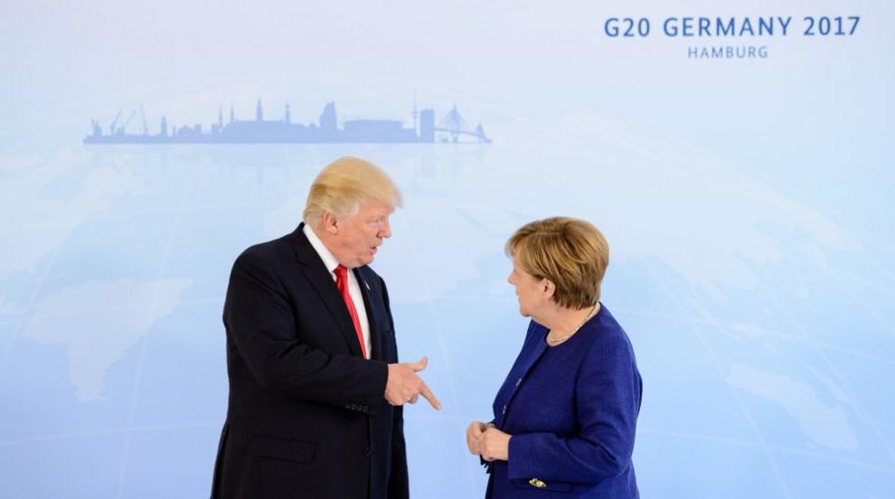 Меркел разкритикува Тръмп за заканите му към Северна Корея