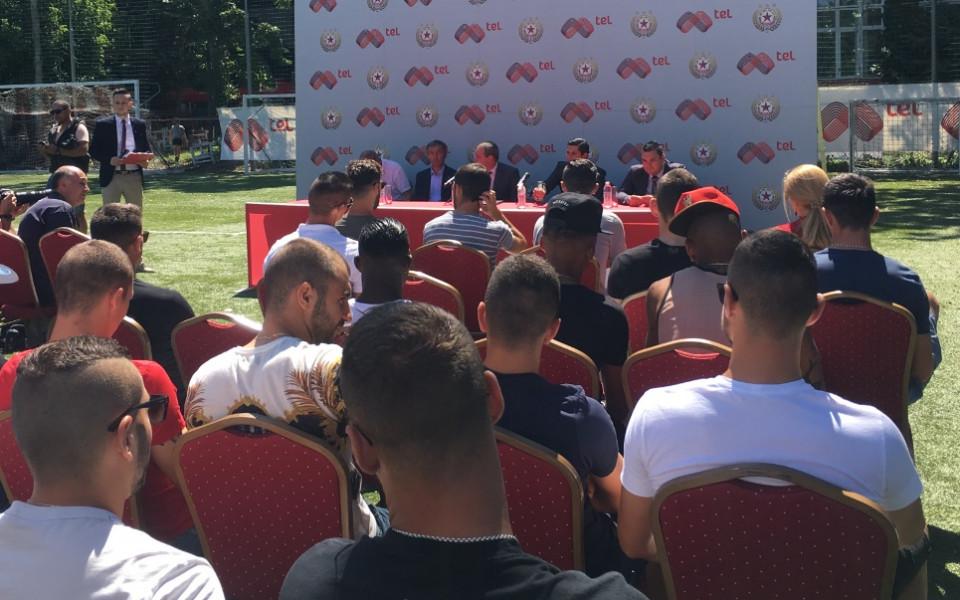 ЦСКА продължи спонсорски договор и си пожела успешен сезон