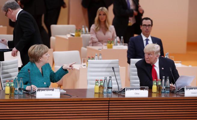 Размяната на думи, погледи и жестове между най-влиятелните хора в света по време на срещата на Г-20 в Хамбург